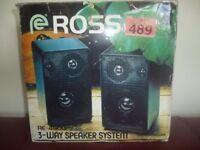 Ross RE 4500 Speakers
