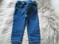 BABY GIRLS JEGGINGS/JEANS X2 - 3-6 MONTHS / 9-12 MONTHS - NEXT - £2.00 EACH