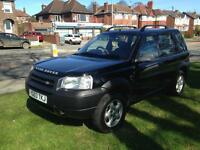 2003 Land Rover freelander td4 full leather 132k