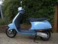 PIAGGIO VESPA LX50 SCOOTER ONLY 2600 MILES BARGAIN REDUCED TO £999.00