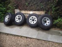 Mitsubishi Shogun alloy wheels and tires 5