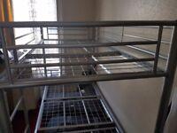 Quality metal bunkbed