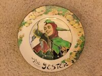 """Royal Doulton """"The Jester"""" D6277 Collector Plate"""