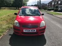TOYOTA YARIS GENUINE LOW MILES WITH SERVICE HISTORY