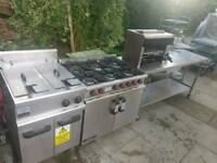 Commercial Catering restaurant job lot LINCAT fryer salamander grill cooker table fully working