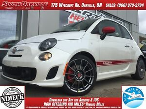 2016 FIAT 500 Abarth | DEMO CLEARANCE | HEATED LEATHER | MANUAL