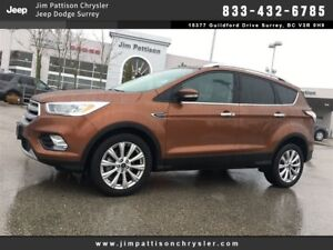 2017 Ford Escape Titanium LIKE NEW