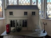 Collectors dolls house with electric