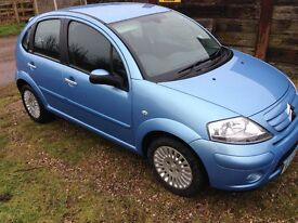 2006 Citroen C3 1.6 Exclusive Sensodrive Blue 59k Miles FSH MOT'd Alloys Air-Con CD HPi Clear £1995