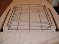 IKEA PULL OUT WIRE SHELVES FOR KITCHEN UNITS