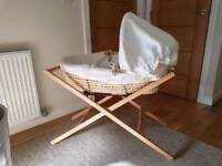 Moses basket and stand from Mamas & Papas