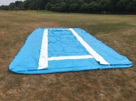 LARGE SWIMMING POOL LINER - 6M X 4M (20FT X 13FT) WITH DEEP END SECTION WOULD MAKE GOOD POND LINER