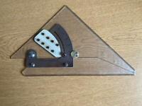 Blundell Harling 273 True Angle Set Square Vintage