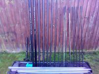 drennan acolyte pole and preston seat box attachments