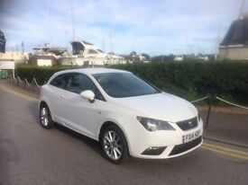 2014 SEAT TOCA WHITE 1.4 PETROL 14,000 MILES ON THE CLOCK EXCELLENT CONDITION