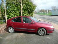 Renault Megane 1.6 Dynamique - Manual - Petrol - 12 Months MOT £500 ono