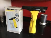 Karcher window vac WV50 with the spray bottle to mist/wet windows