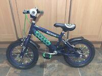 "Boys/Girls 14"" Raleigh bike"