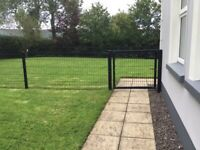 Garden security fencing and 3 gates