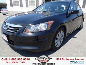 2011 Honda Accord EX-L with Leather and Sunroof $161.84 BI WEEKL
