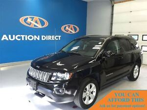 2015 Jeep Compass SPORT LEATHER! SUNROOF!, 4X4, FINANCE NOW!!