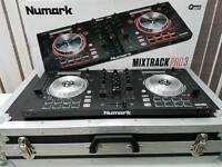 Numark Mix Track Pro 3 With Box & Flight Case