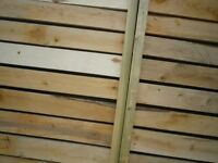Recycled Timber Fence Panels 3ft X 4ft