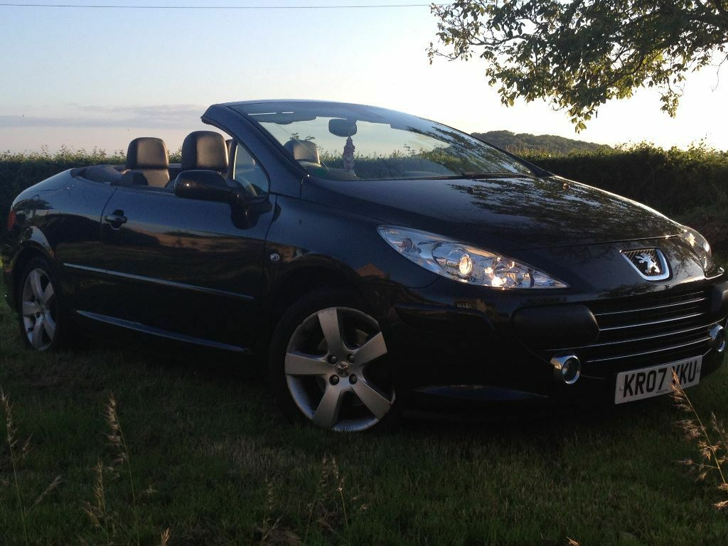 Peugeot 307 CC 2.0 HDi Sport, Manual, Diesel Only 56.000 Mile 2007 Black