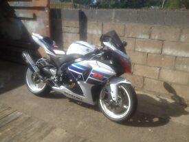 2013 gsxr 1000 million limited edition with only 1500 miles from new