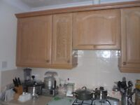 Kitchen Cabinets and Fittings in Limed Oak