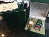 Authentic Gucci bezel Watch
