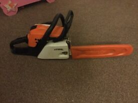 2013 stihl 171/c chainsaw, great work order recently serviced and chain sharpened.