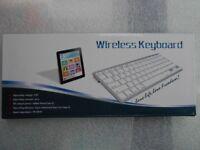WIRELESS KEYBOARD BRAND NEW WITH RECEIPT
