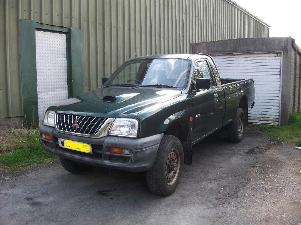 mitsubishi l200 single cab pick up in bridgend gumtree. Black Bedroom Furniture Sets. Home Design Ideas