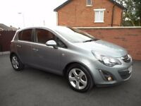2012 vauxhall corsa sxi cdti{fsh,30 pounds tax,finance,warranty ava,12 months warranty}