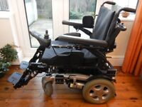 Quickie Salsa R2 powered wheelchair