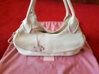 Radley cream leather handbag