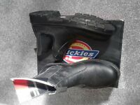 Safety boots (Steel toe cap) size 10 Uk euro 44
