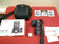 Canon EOS 700D Digital SLR + 18-135mm IS STM Lens
