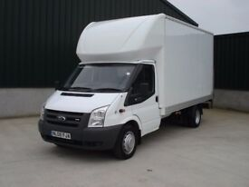 MAN WITH VAN HIRE LUTON VAN WITH TAIL LIFT MOPED MOTORBIKE DELIVERY HOUSE MOVERS MOVING VAN LONDON