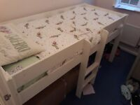 Childs STOMPA midrise bed & mattress. Good condition, mattress excellent condition.