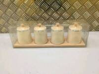 Spice Jars set of 4