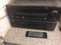 Kenwood amp KR-V7030 and CD player