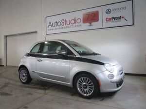 2012 Fiat 500 Lounge **CUIR**TOIT**MAGS**