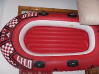 inflatable boat dingy lilo din 7871