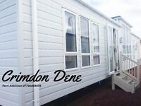 Static Caravan For Sale North East Coast Direct Beach Access Pet Friendly Park Crimdon Dene