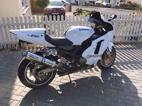 White zx12r Bh1 zx1200 ninja,long mot,recent service