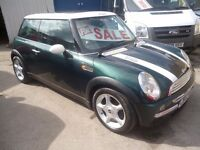Mini Cooper,1598 cc 3 door hatchback,FSH,half leather interior,Panoramic roof,runs and drives well