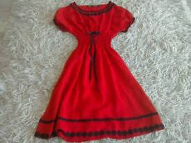 Red Dolly Dare dress
