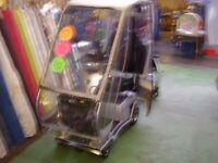 QUINGO VITESSE 5 WHEEL MOBILITY SCOOTER WITH FACTORY FITTED RAINCOVER